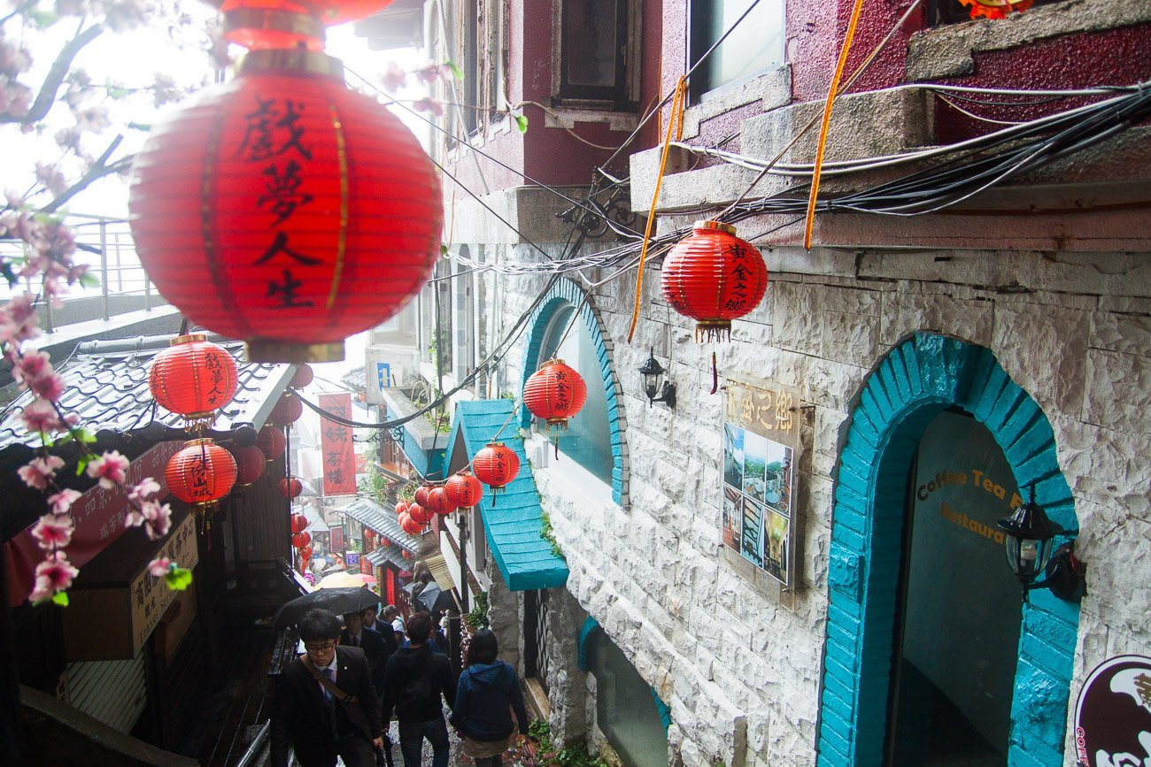 11 days in Taiwan: Jiufen + Shifen on Day 9