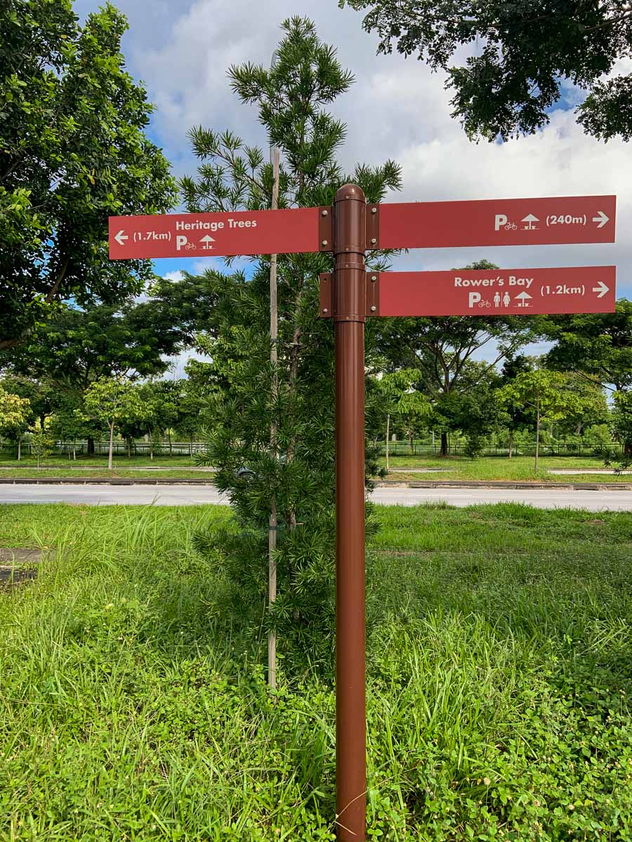 Seletar West Camp Park Connector Coast-to-Coast Trail Singapore