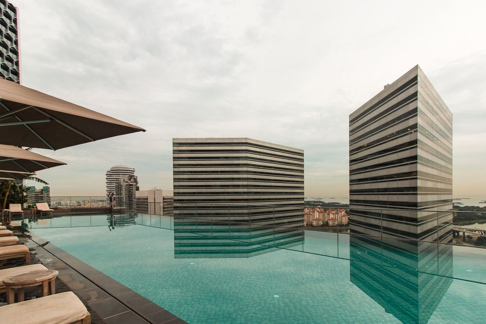 andaz swimming pool